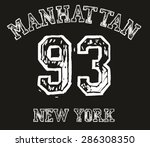 new york city vector art | Shutterstock .eps vector #286308350
