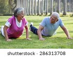 Active Elderly Couple...