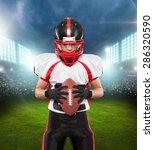 american football  touchdown ... | Shutterstock . vector #286320590