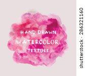 hand drawn watercolor texture.... | Shutterstock .eps vector #286321160