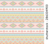 tribal patterns | Shutterstock .eps vector #286334903