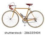 Vintage Bikes Orange