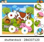 cartoon illustration of match... | Shutterstock . vector #286337120