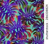 watercolor seamless pattern... | Shutterstock . vector #286338824