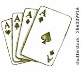 vector game cards. games of...   Shutterstock .eps vector #286339916