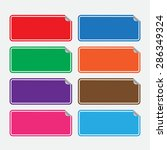 web stickers  tags and banners. ... | Shutterstock .eps vector #286349324
