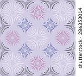 fabric or vintage wallpaper ... | Shutterstock .eps vector #286353014