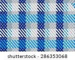 fabric texture seamless  tile... | Shutterstock .eps vector #286353068