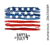 happy 4th of july  usa... | Shutterstock .eps vector #286356089