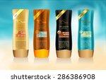 beauty cosmetics  packaging... | Shutterstock .eps vector #286386908