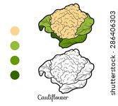 Coloring Book  Cauliflower