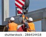 Construction Worker Navigating...