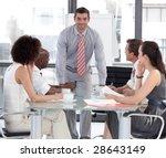 young attracitve businessman... | Shutterstock . vector #28643149