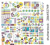 vectors info graphics set and... | Shutterstock .eps vector #286452749