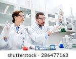 science  chemistry  biology ... | Shutterstock . vector #286477163