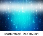 abstract background. blue shiny ... | Shutterstock . vector #286487804