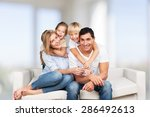 father  day  son. | Shutterstock . vector #286492613