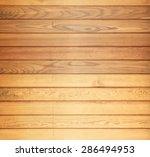 brown wooden texture wall... | Shutterstock . vector #286494953