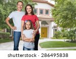 father  day  family. | Shutterstock . vector #286495838