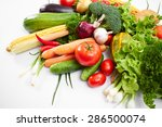 fresh vegetables | Shutterstock . vector #286500074