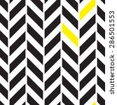 chevron black and white... | Shutterstock .eps vector #286501553