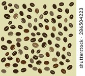 coffee background vector | Shutterstock .eps vector #286504223