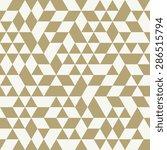 geometric  pattern with light... | Shutterstock . vector #286515794