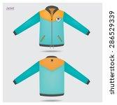 jacket sport design. | Shutterstock .eps vector #286529339