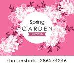 spring garden collection....   Shutterstock .eps vector #286574246