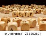 voip word concept | Shutterstock . vector #286603874