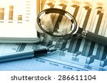 business accounting | Shutterstock . vector #286611104