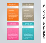business infographics template... | Shutterstock .eps vector #286622228