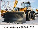 exhibition of construction... | Shutterstock . vector #286641623