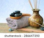 Zen Spa Background  Incense...