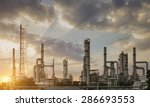 oil refining industry the... | Shutterstock . vector #286693553
