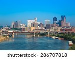 Skyline Of St  Paul In...