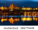 beautiful and historic charles... | Shutterstock . vector #286774448
