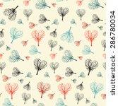 seamless vector flat design... | Shutterstock .eps vector #286780034