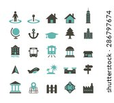place icon   Shutterstock .eps vector #286797674
