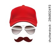 Baseball Cap Glasses And...