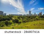 view from krylatskoye hill | Shutterstock . vector #286807616