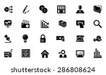 finance vector solid icons 6  | Shutterstock .eps vector #286808624