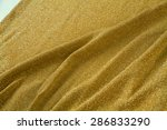 gold  fabric  detail of golden... | Shutterstock . vector #286833290