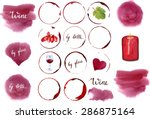 Vector Wine Design Set  A...