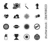 vector illustration of sport... | Shutterstock .eps vector #286908023