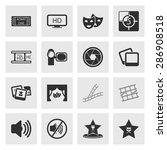 vector illustration of cinema... | Shutterstock .eps vector #286908518