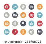 industry   logistics icons   ... | Shutterstock .eps vector #286908728