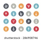 drinks icons    classics series | Shutterstock .eps vector #286908746