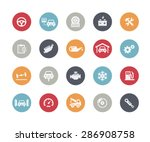 car service icons    classics... | Shutterstock .eps vector #286908758