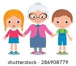 vector cartoon illustration of... | Shutterstock .eps vector #286908779
